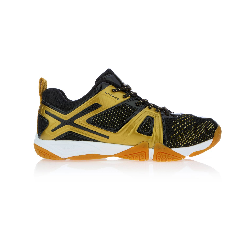 buy li ning omega black badminton shoes online in india