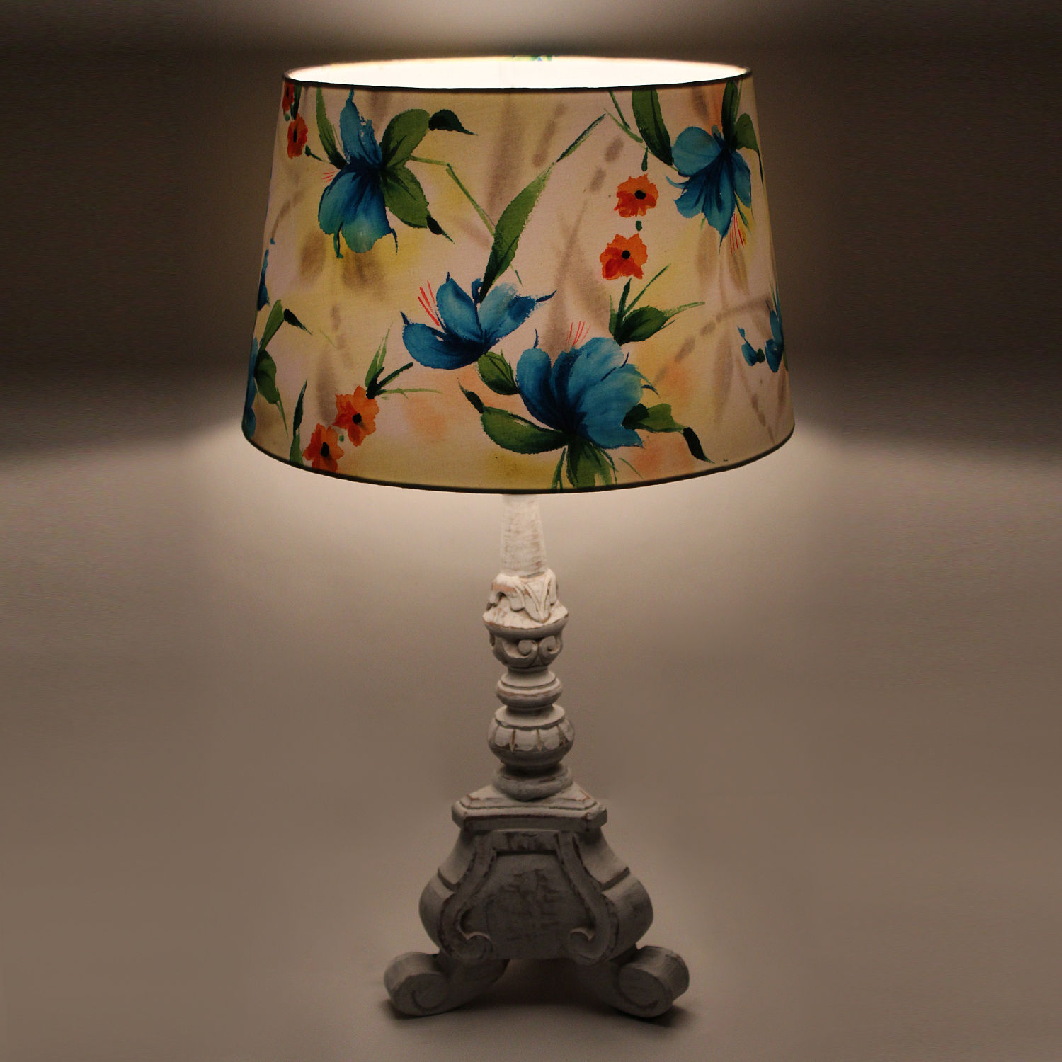 The decor mart butterfly garden hand painted lamp shade pack of 1 aloadofball Gallery