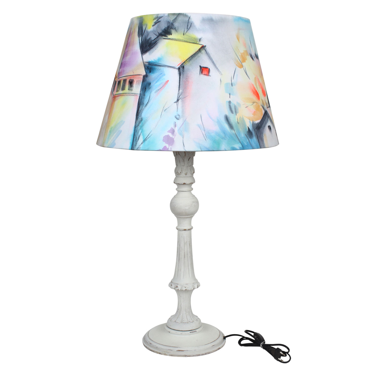 The decor mart the speaking windows hand painted lamp shade pack of 1 aloadofball Gallery