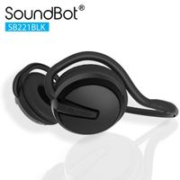 SoundBot SB221 Bluetooth Headset - Black