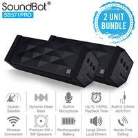SoundBot 2 UNIT BUNDLE SB571PRO  SPEAKER Bluetooth Speaker