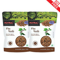 Nutraj Flax Seeds 200g (Pack of 2)