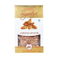 Nutraj Signature - California Almonds (Jumbo) Plain - 200g - Vacuum Pack