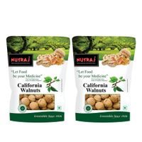 Nutraj California Walnut In Shell 800 g (Pack of 2)