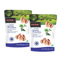 Nutraj Iranian Roasted & Salted Pistachios 250G (Pack Of 2)