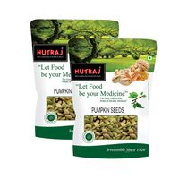 Nutraj Pumpkin Seeds 200g (Pack of 2)