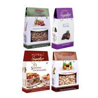 Nutraj Super Saver Pack 500gm (Prunes + Pistachios + Cranberries + Turkish)