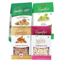 Nutraj Daily  Need Dry Fruit Combo 800gm (Walnut+Almonds+Cashew +Raisin)