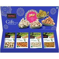 Nutraj Healthy Bites 4Ever Nuts 400g - Mixed Dry Fruit Gift Pack for Diwali