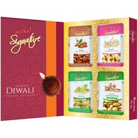 Nutraj Signature 4Ever Nuts 800g - Mixed Dry Fruit Gift Pack for Diwali