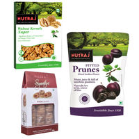 Nutraj Super Saver Pack 850g (Walnuts+Figs) - Prunes 200g Free