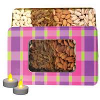 Nutraj Mixed Dry Fruit Gift Pack 400g for Diwali (Almonds, Cashews, Raisins, Pistachios)