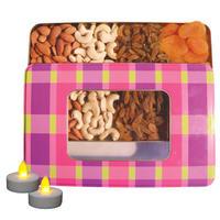 Nutraj Mixed Dry Fruit Gift Pack 400g for Diwali (Almonds, Cashews, Raisins, Apricots)