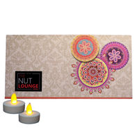 Nutraj Mixed Dry Fruit Gift Pack 400g for Diwali (Almonds, Cashews, Kiwi, Apricots) - Splendour Box