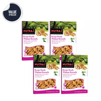 Nutraj Recipe Ready Walnut Kernels 250 Gms - Pack of 4 (1000g)
