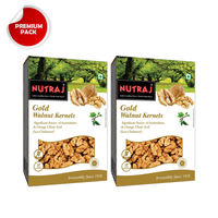 Nutraj - Gold Walnut Kernels - 250G (Pack Of 2)