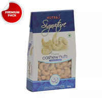 Nutraj Signature Roasted and Salted Cashew 200g - Vacuum Pack