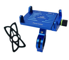 GrandPitstop Claw-Grip Mobile Holder Mount - Blue