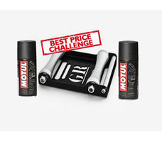 GRoller Large with Motul Chain Clean and Lube 150 ml