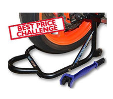 Free Chain Cleaning Brush Blue with GrandPitstop Rear Paddock