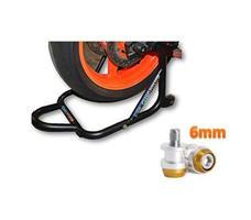 Paddock Dismantable Black & 6 mm Bobbins  Dual Cap-1