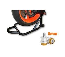 Paddock Dismantable Black & 8 mm Bobbins  Dual Cap