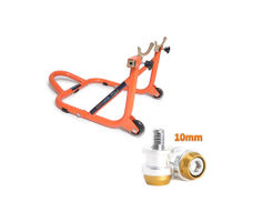 Paddock Dismantable Orange & 10 mm Bobbins  Dual Cap
