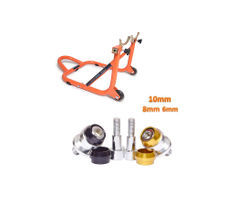 Paddock Dismantable Orange & Bobbins Combo Dual Cap