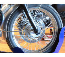Motorcycle Wheel Chock - Transport