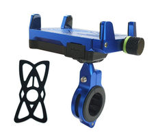 GrandPitstop Claw-Grip Mobile Holder Mount with Charger - Blue