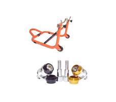 Paddock Dismantlable Orange & Bobbins Combo Dual Cap