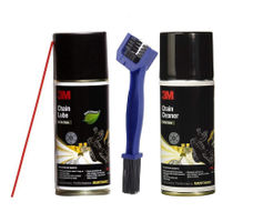 3M Chain Cleaner, Lube & Brush Combo