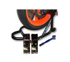 3M Chain Cleaning Kit & Paddock Stand Combo