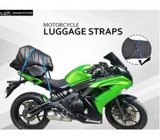 Grandpitstop Motorbike Luggage Straps (Bungee Cord) (Set of 2)