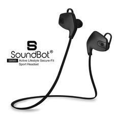 SoundBot SB565 Bluetooth Headset - Black