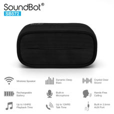 SB572 HD Bluetooth Wireless 3W Speaker