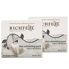 Richfeel Skin Whitening Pack 100g (Pack Of 2)