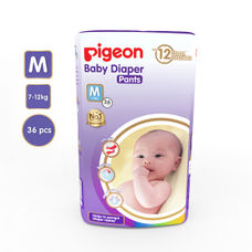 PIGEON ULTRA PREMIUM PANTS DIAPER, MEDIUM (36 PCS)