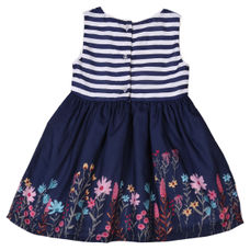WMG PEACOT GIRLS DRESS BS BISCUIT DRS