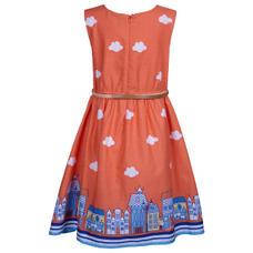 SYG CAMELLIA ROSE GIRLS DRESS DR_SW 6000