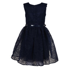 SYG PEACOT GIRLS DRESS WT TACEY DRS