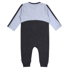 WMB ANTHRA MELANGE BOYS KNIT SET CR CLICK NKS
