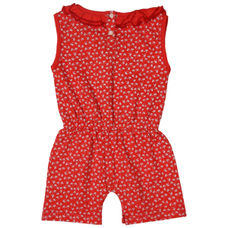 WMG FIERY RED GIRLS JUMPSUIT CR MARCILIA JMP