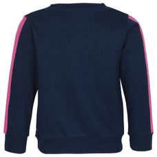 SYG DARK BLUE GIRLS SWEATSHIRTS EW ECHO SWT