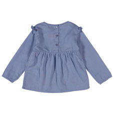 WMG BLUE GLOW GIRLS TOPS FF ZLITTER TOP
