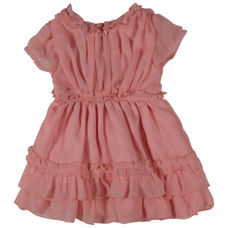 WMG IMPATIENTS PINK GIRLS DRESS FF ZOY DRS