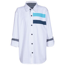 SYB BRIGHT WHITE BOYS SHIRTS FS DEXTER SHI