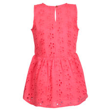 SYG HOT CORAL GIRLS TOPS GN NATALIA TOP