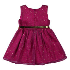 WMG HOT PINK GIRLS DRESS LL LISA DRS