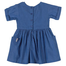 WMG MID BLUE GIRLS DRESS MW WALERIA DRS